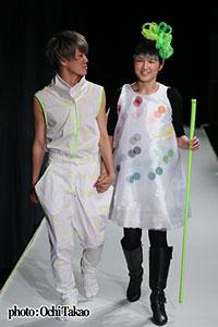 ファッション・ウィーク東京「東京コレクション」テンボのショーから