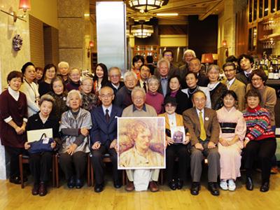 「第3回エロシェンコを偲ぶ会」の記念写真