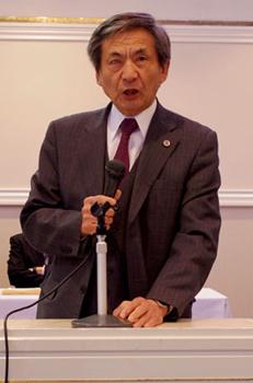 竹下義樹会長のスピーチ
