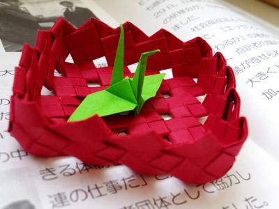 前田会長お手製の箱。しっかりとした作りになっています。