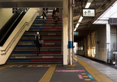 【写真の説明】蕨駅のホーム