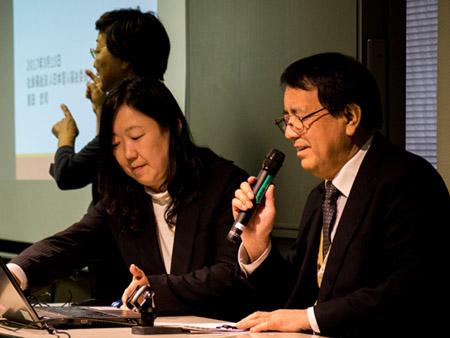 【写真の説明】社会福祉法人日本盲人福祉委員会 常務理事 指田忠司氏