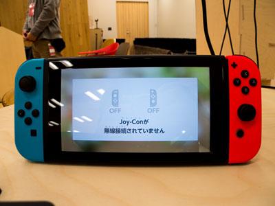 【写真の説明】3月に発売されたNintendo Switch