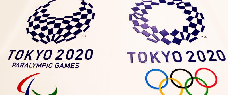 【写真の説明】東京2020大会エンブレム「組市松紋」