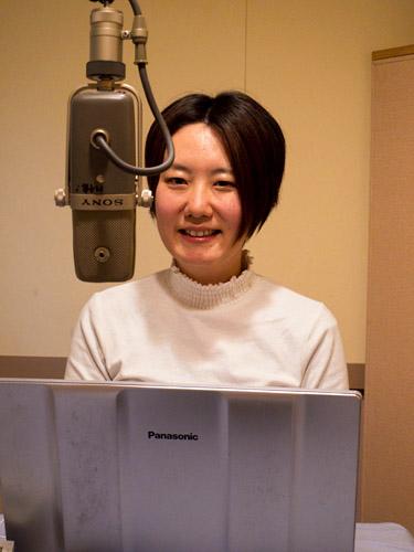 【写真の説明】viwa 理事長 奈良里紗さんpart1