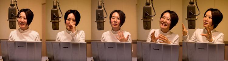 【写真の説明】viwa 理事長 奈良里紗さんpart2