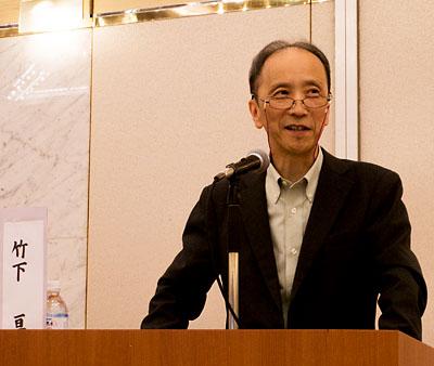 日本ライトハウス情報文化センター館長の竹下亘さん