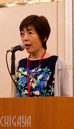 全国音訳ボランティアネットワーク代表の藤田晶子さん