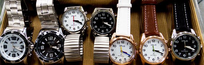 GRUSボイス電波腕時計