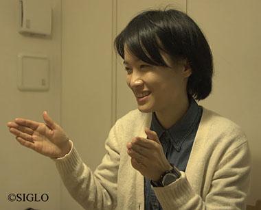 写真:川口智子さん