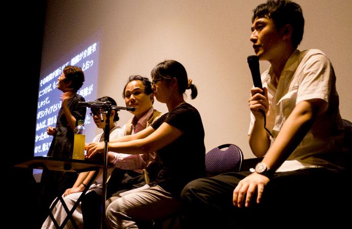 公開初日に行われたトークショー